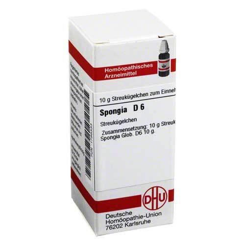 DHU Spongia D 6 Globuli - 1
