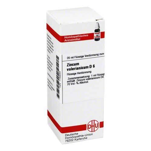 DHU Zincum valerianicum D 6 Dilution - 1