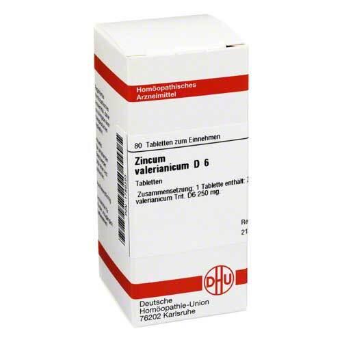 DHU Zincum valerianicum D 6 Tabletten - 1