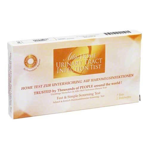 Hometest zur Untersuchung auf Harnwegsinfektion 2 St.