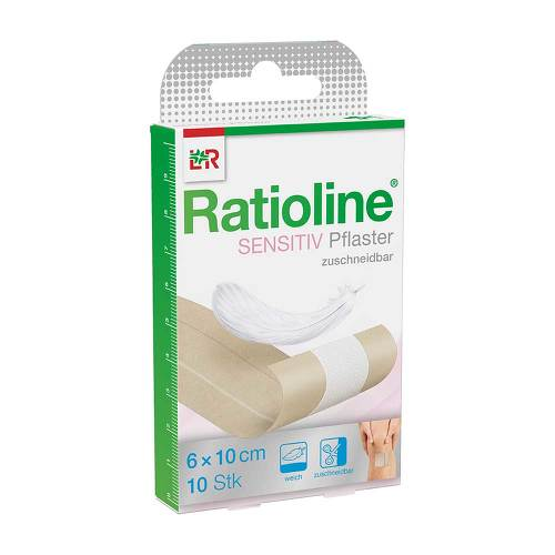 Ratioline sensitive Wundschnellverband 6 cm x 1 m - 1