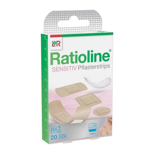 Ratioline sensitive Pflasterstrips in 4 Größen - 1