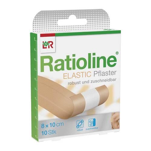 Ratioline elastic Wundschnellverband 8 cm x 1 m - 1