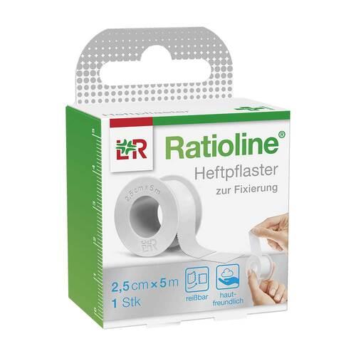 Ratioline acute Heftpflaster 2,5 cm x 5 m - 1