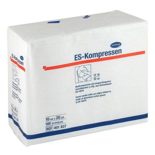 ES-Kompressen unsteril 10x20 cm 12fach - 1