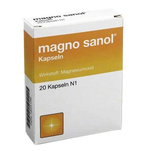 Magno Sanol Hartkapseln - 1
