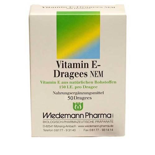 Vitamin E Dragees NEM - 1