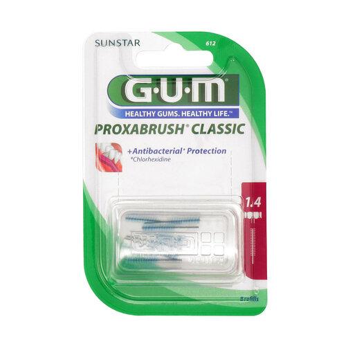 GUM Proxabrush Ersatzbürsten 0,7 mm Kerze - 1