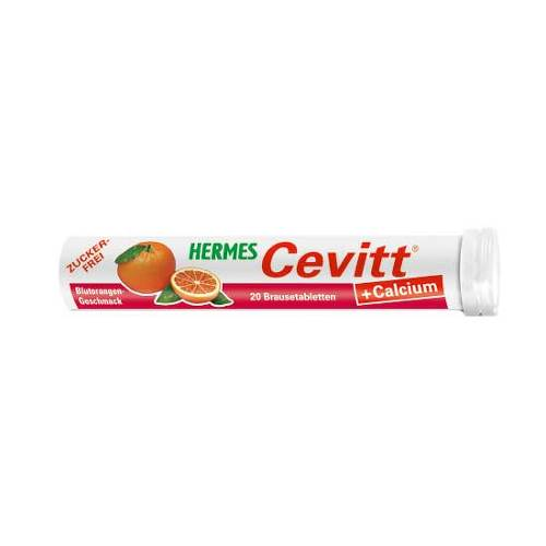 Hermes Cevitt + Calcium Blutorange Brausetabletten - 1