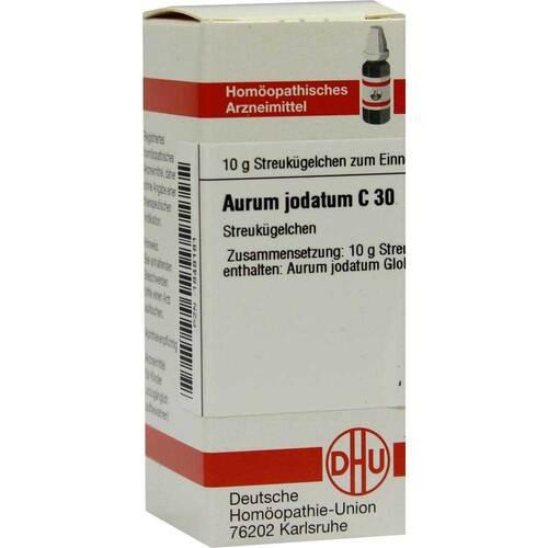 Aurum jodatum C 30 Globuli - 1