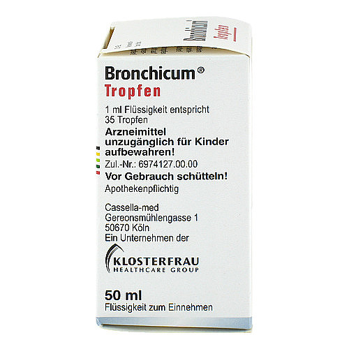 Bronchicum Tropfen - 2