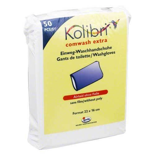 Kolibri comwash extra Waschhandschuh unfol.16x24cm - 1