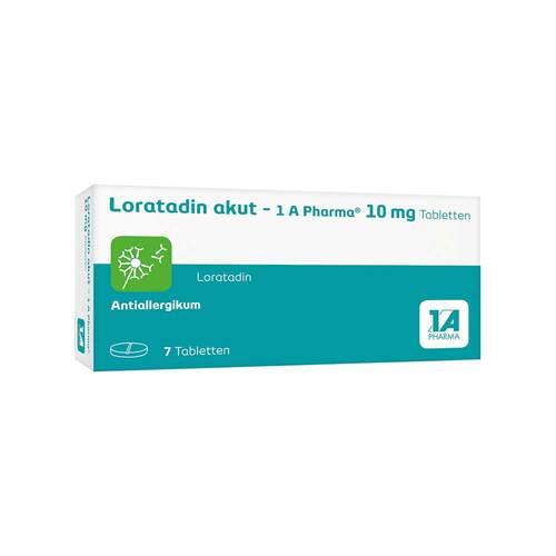 Loratadin akut 1A Pharma Tabletten - 1