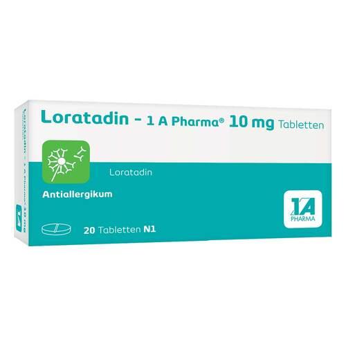 Loratadin 1A Pharma Tabletten - 1