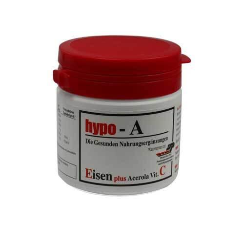 Hypo A Eisen + Acerola Vitamin C Kapseln - 1