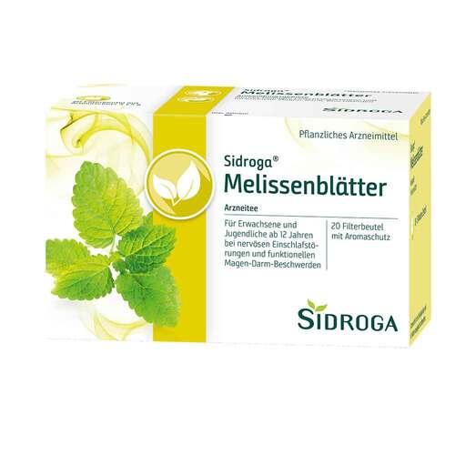 Sidroga Melissenblätter Tee Filterbeutel - 1