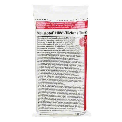 Meliseptol Hbv Tücher Nachfüllpackung - 1