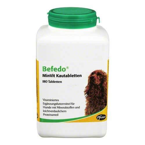 Befedo Minvit für Hunde Kautabletten - 1