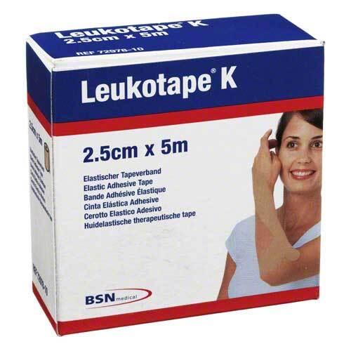Leukotape K 2,5cm hautfarben - 1
