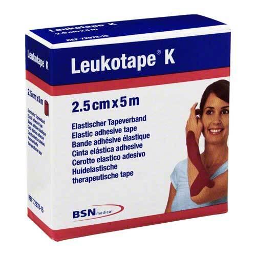 Leukotape K 2,5cm rot - 1