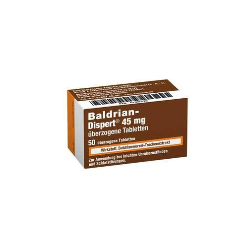 Baldrian Dispert 45 mg überzogene Tabletten - 1