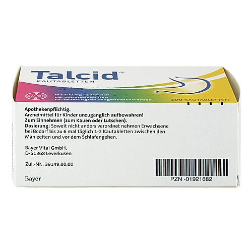 Talcid Kautabletten - 3