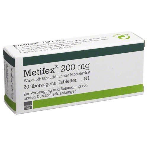 Metifex 200 mg überzogene Tabletten - 1