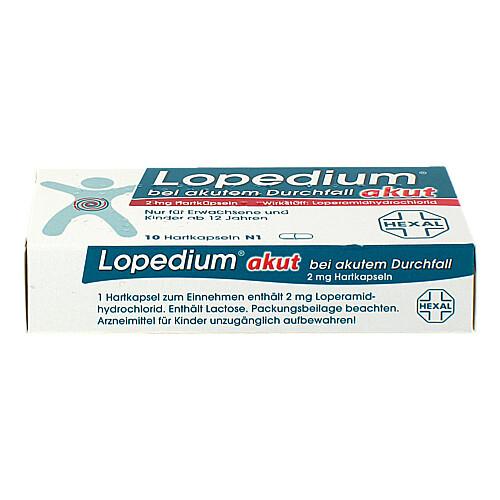 Lopedium akut bei akutem Durchfall Hartkapseln - 2