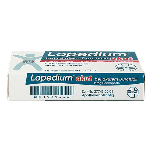 Lopedium akut bei akutem Durchfall Hartkapseln - 3