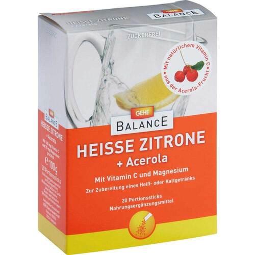 Gehe Balance Heiße Zitrone + Acerola Pulver - 1