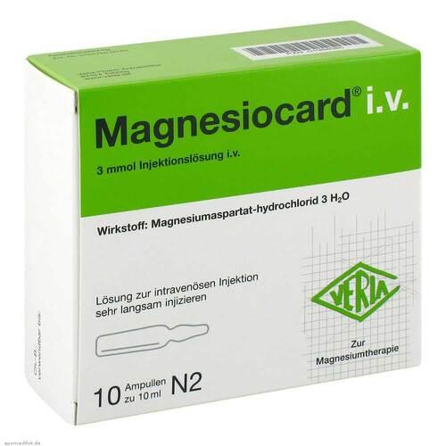 Magnesiocard i.v. Injektionslösung - 1