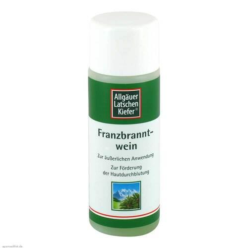 Allgäuer Latschenkiefer Franzbranntwein - 1