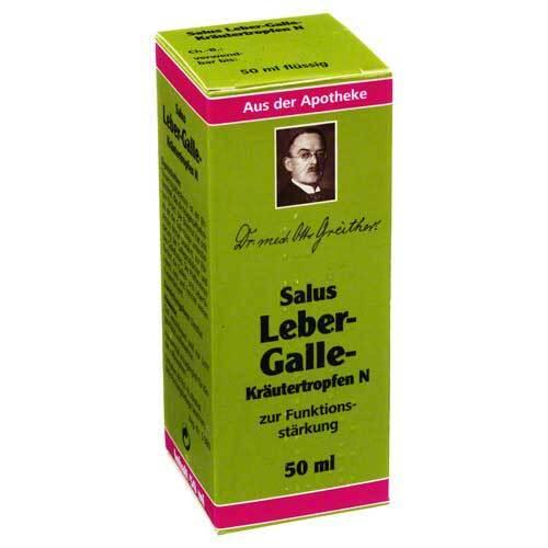 Leber Galle Kräutertropfen N Salus - 1