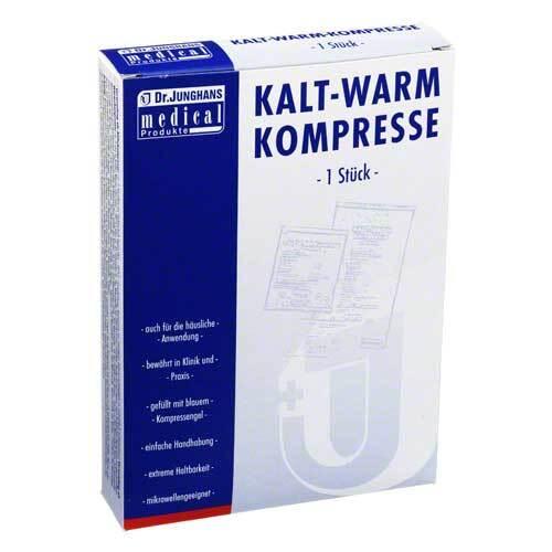 Kalt-Warm Kompresse 12x29cm mit Vlieshülle - 1