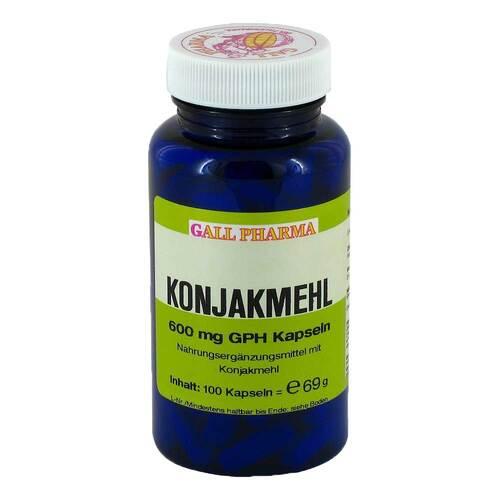 Konjakmehl 600 mg Kapseln - 1