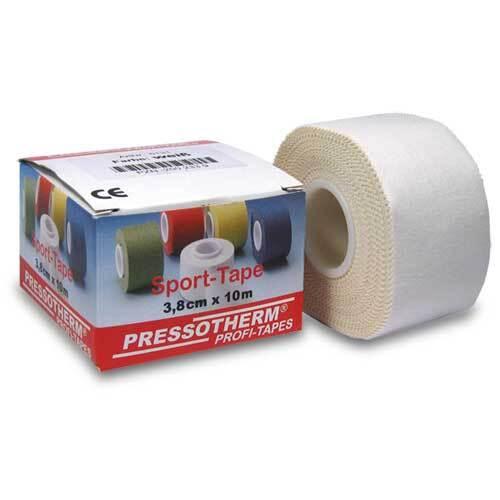 Pressotherm Sport-Tape 3,8cmx10m weiß - 1