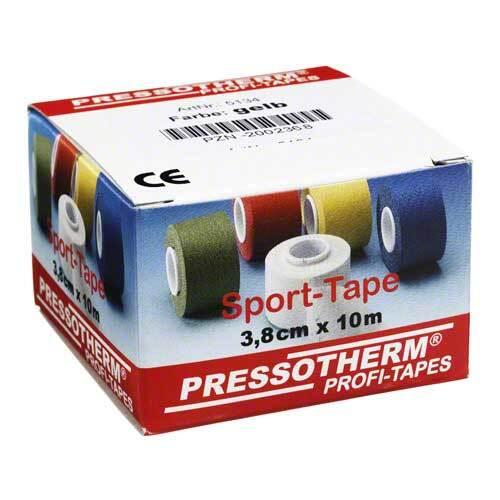 Pressotherm Sport-Tape 3,8cmx10m gelb - 1