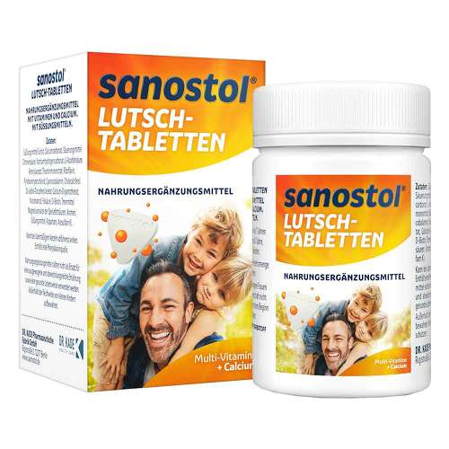 Sanostol Lutschtabletten - 1