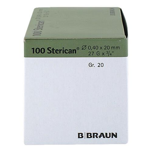Sterican Kanüle Luer-Lok 0,40x2 - 3