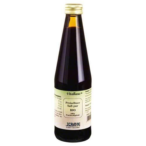 Preiselbeer Saft Pur Bio Vit - 1