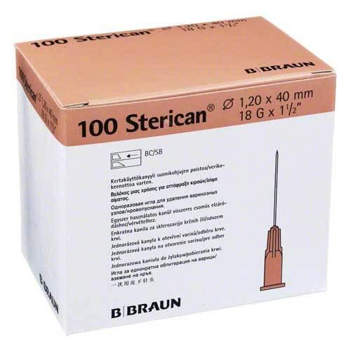 Sterican Kanülen 18Gx1 1 / 2 1,2x40 mm - 1