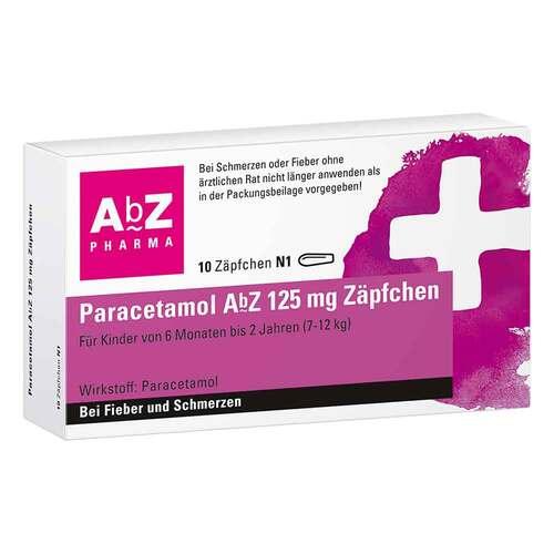 Paracetamol AbZ 125 mg Zäpfchen - 1