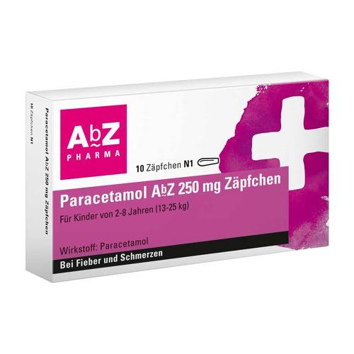 Paracetamol AbZ 250 mg Zäpfchen - 1