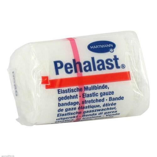 Peha-Last Mullbinde elastisch 4 cm x 4 m - 1
