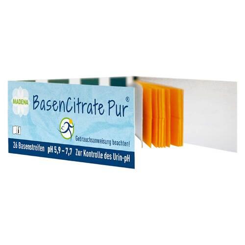 Basen Citrate Pur Teststreifen pH 5,9 - 7,7 n.Apot.R.Keil - 1