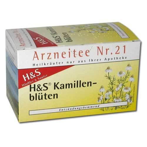 H&S Kamillentee Filterbeutel - 2