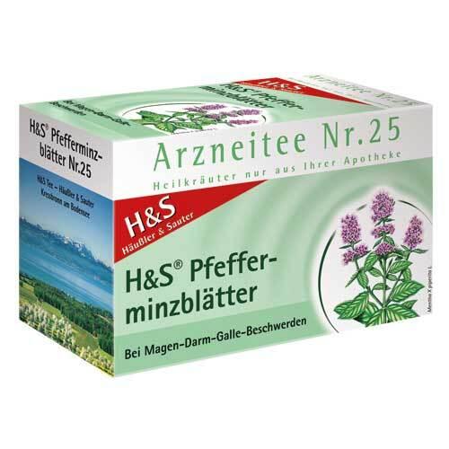 H&S Pfefferminztee Filterbeutel - 1