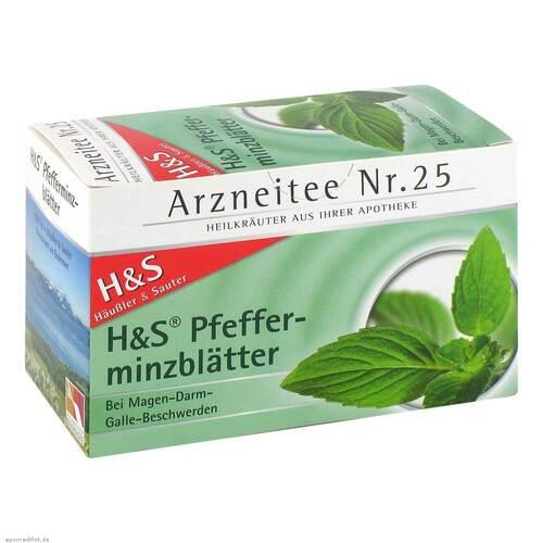 H&S Pfefferminztee Filterbeutel - 2