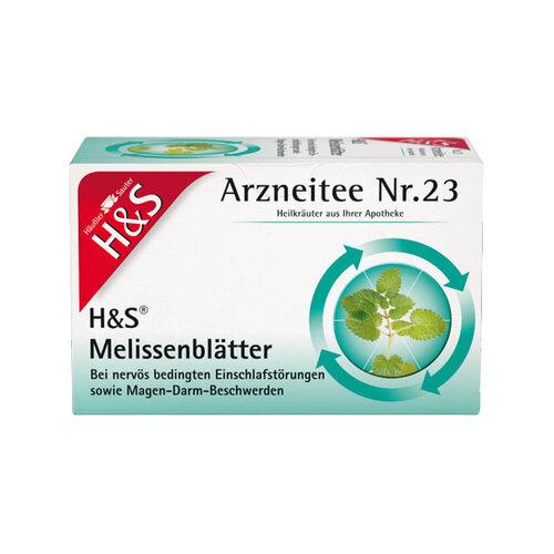 H&S Melissenblättertee Filterbeutel - 1