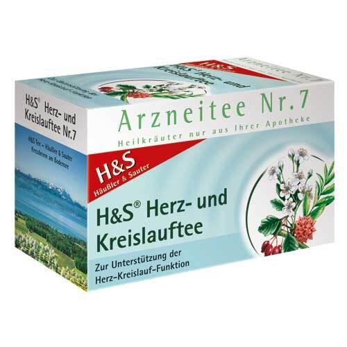 H&S Herz Kreislauf Tee Filterbeutel - 2